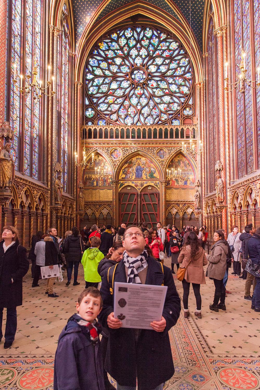 Sainte-Chapelle Paris France editorial photographer
