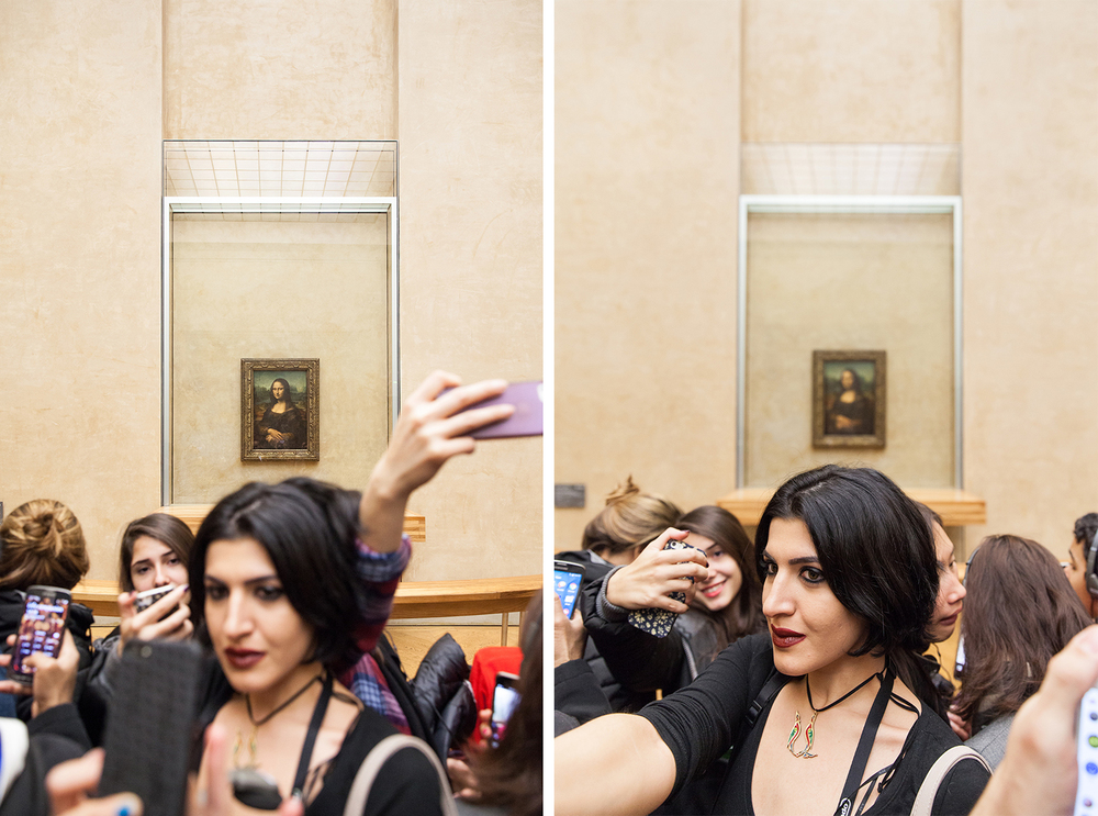 Mona Lisa paris france travel editorial photographer magazine