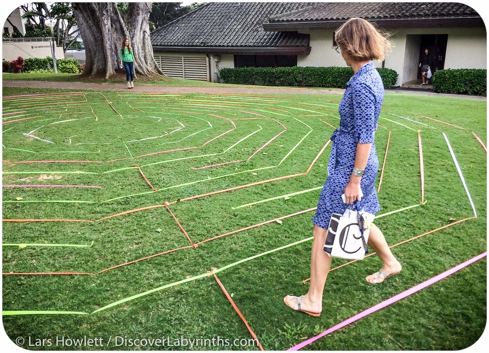 Punahou Labyrinth