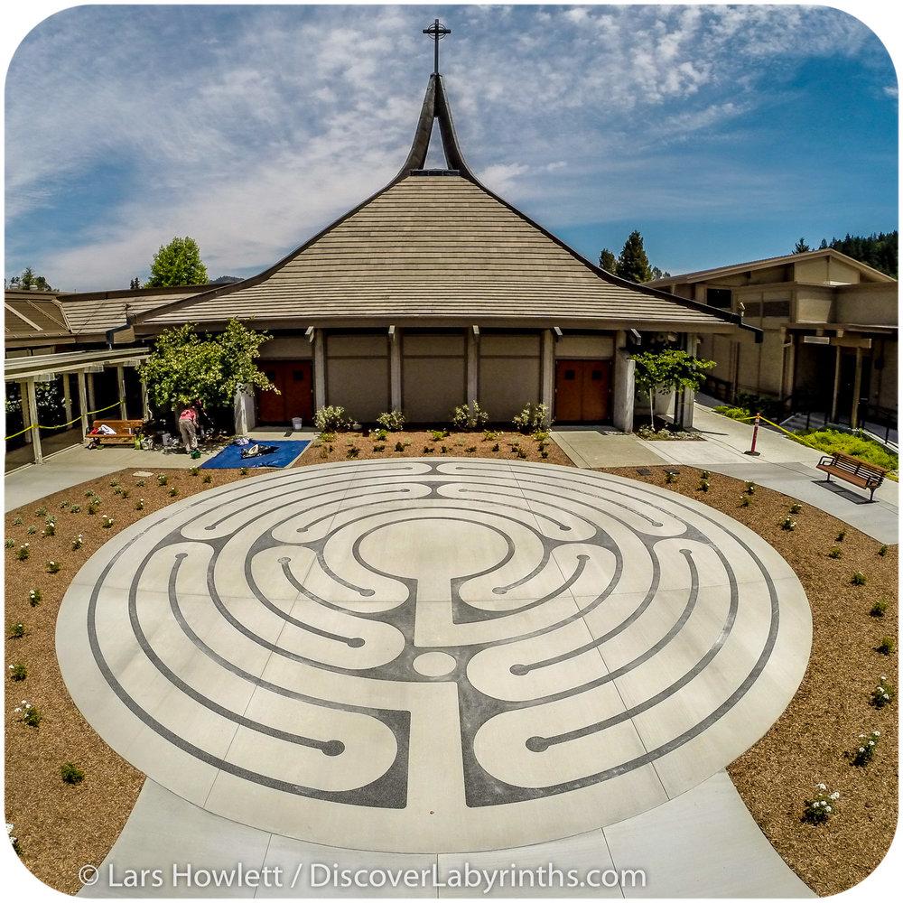 Discover Labyrinths 5 Circuit Labyrinth Santa Rosa