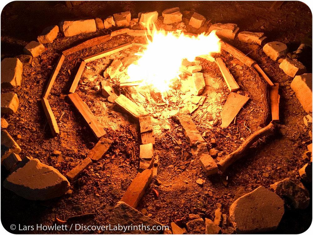 Firewood Labyrinth