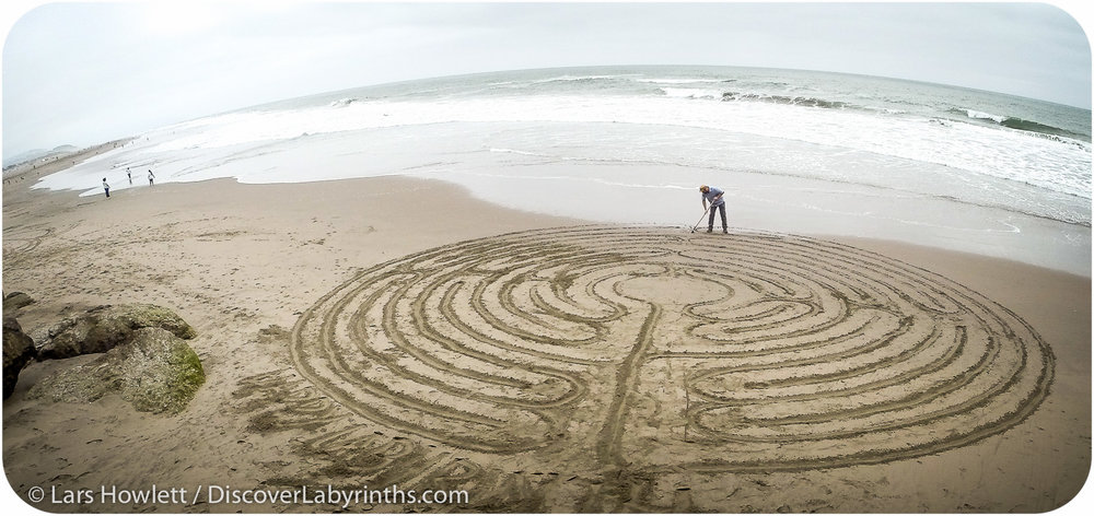Beach Labyrinth