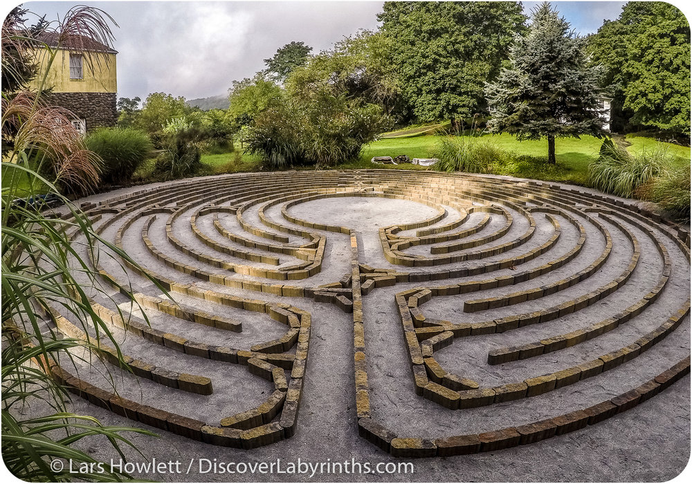 Paver Labyrinth
