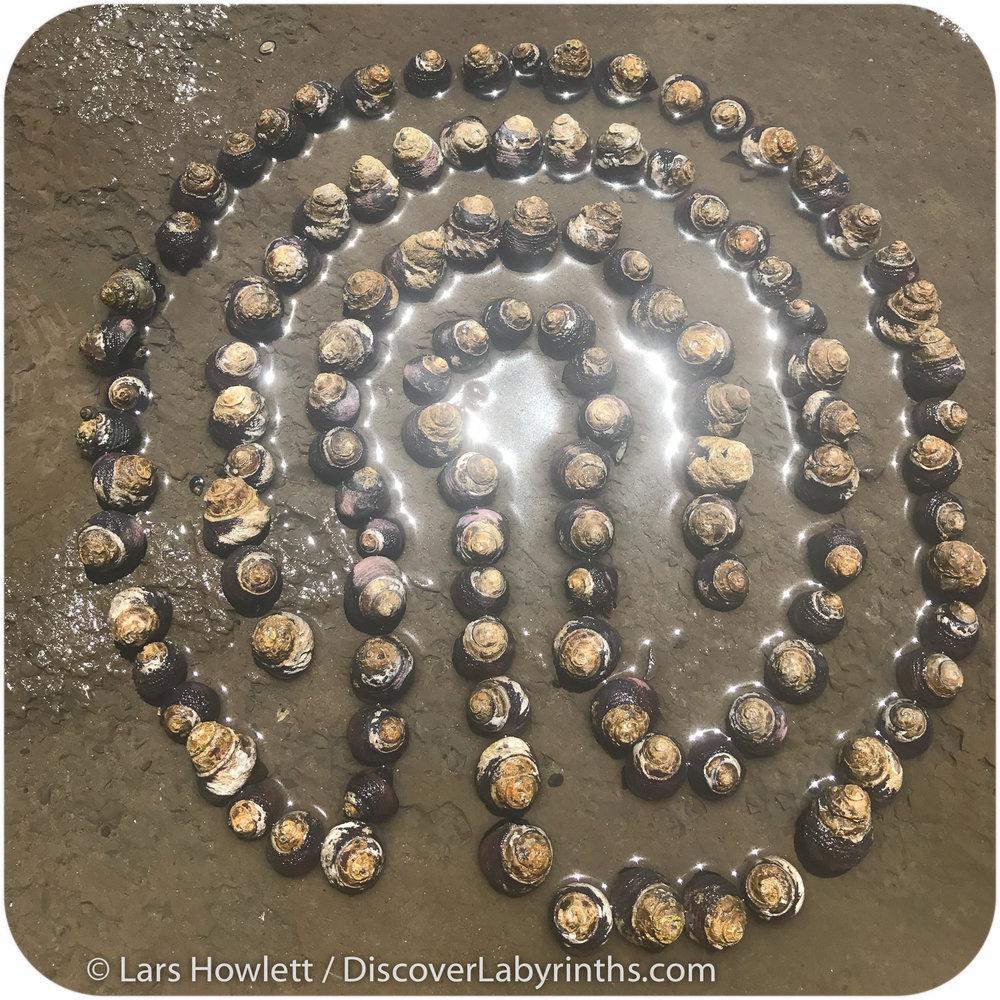 Snail Shell Labyrinth