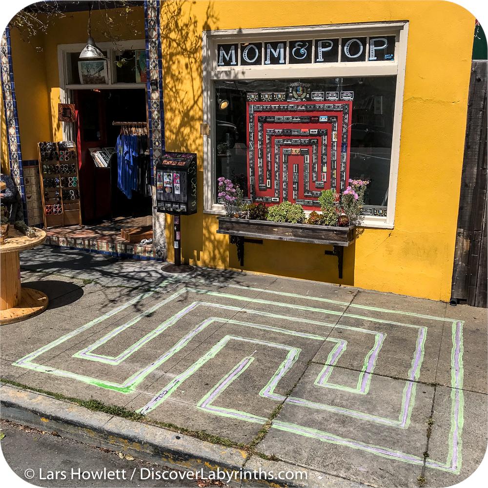 Chalk Labyrinth
