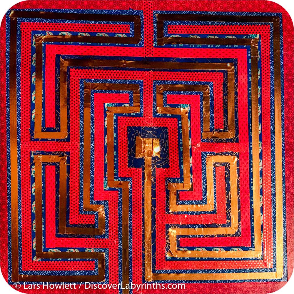 Washi Tape Labyrinth