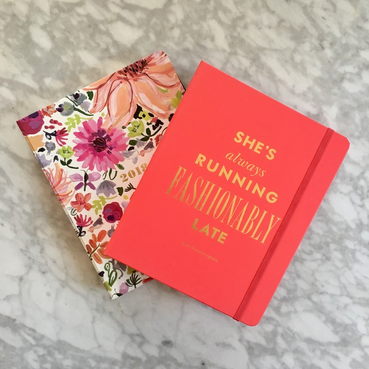 Kate Spade's 2018 planners are adorable! #classy