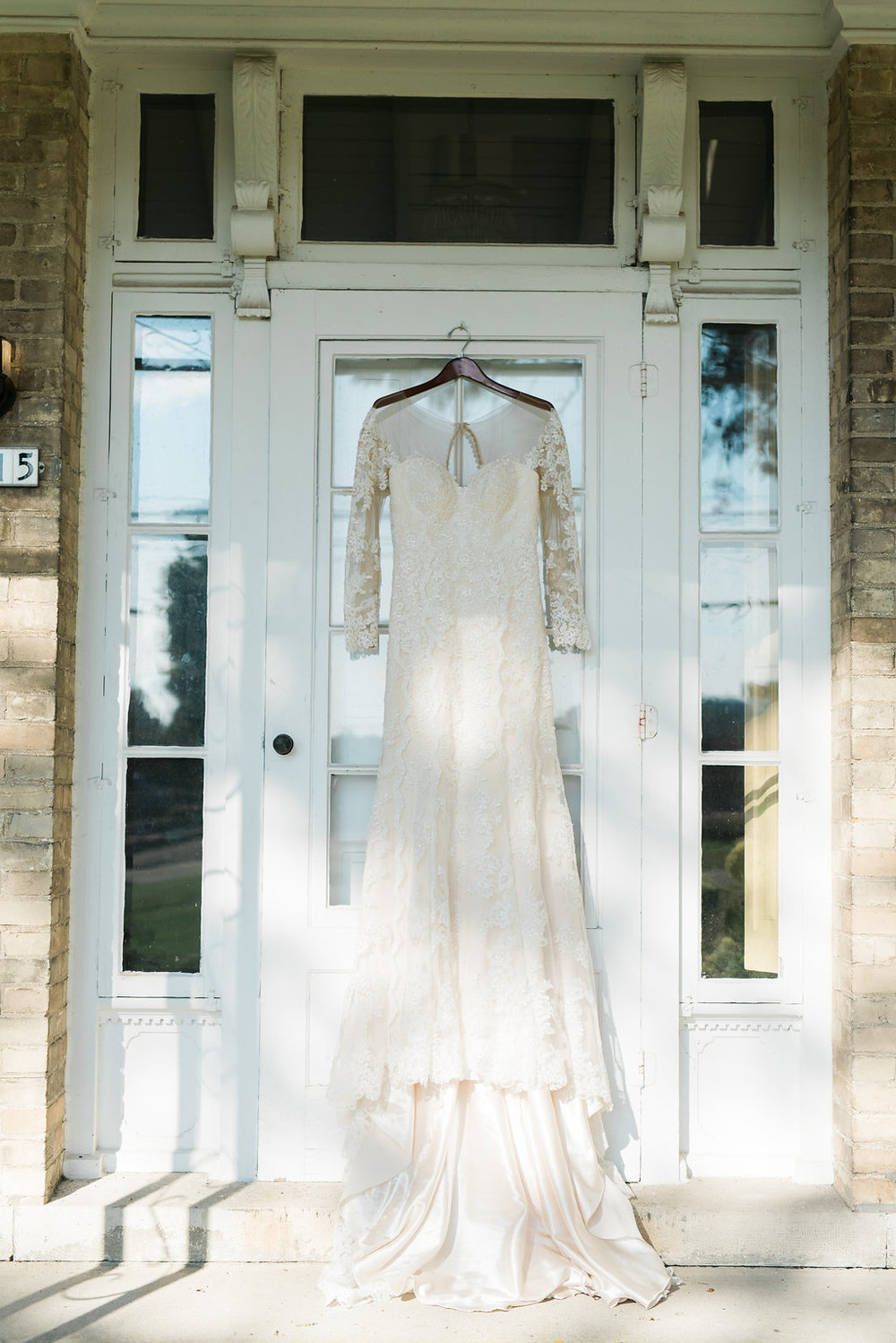 Dreamy wedding dress by Bucci's Bridal