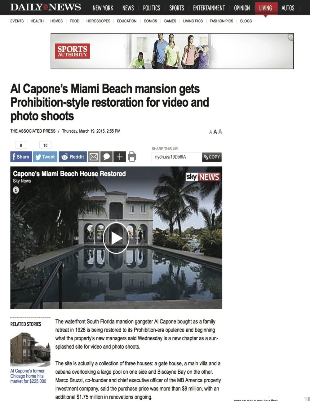 "<p><strong>Daily News</strong><a href=""http://www.nydailynews.com/life-style/al-capone-miami-beach-mansion-restoration-article-1.2155650"" target=""_blank"">Watch Video →</a></p>"