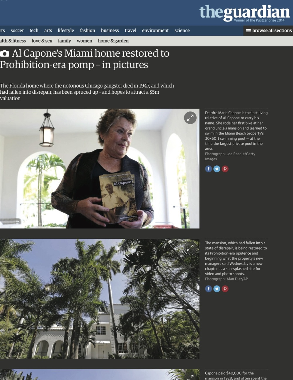 "<p><strong>The Guardian</strong><a href=""http://www.theguardian.com/lifeandstyle/gallery/2015/mar/18/al-capone-miami-beach-home-restored"" target=""_blank"">View Article →</a></p>"