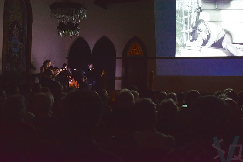Live performance of Voxare Meets the Man with a Movie Camera