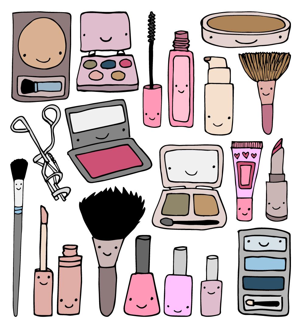 Makeup Doodles!