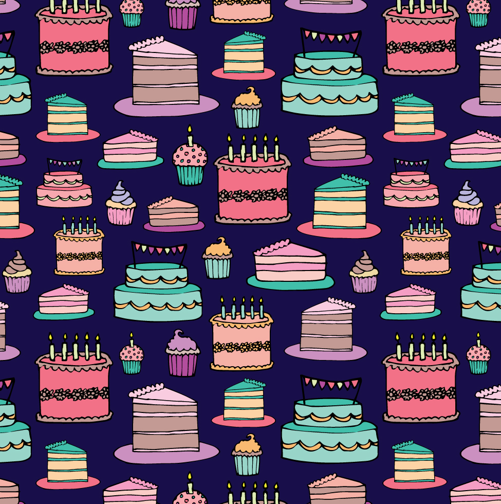 Birthday Cake Patterns