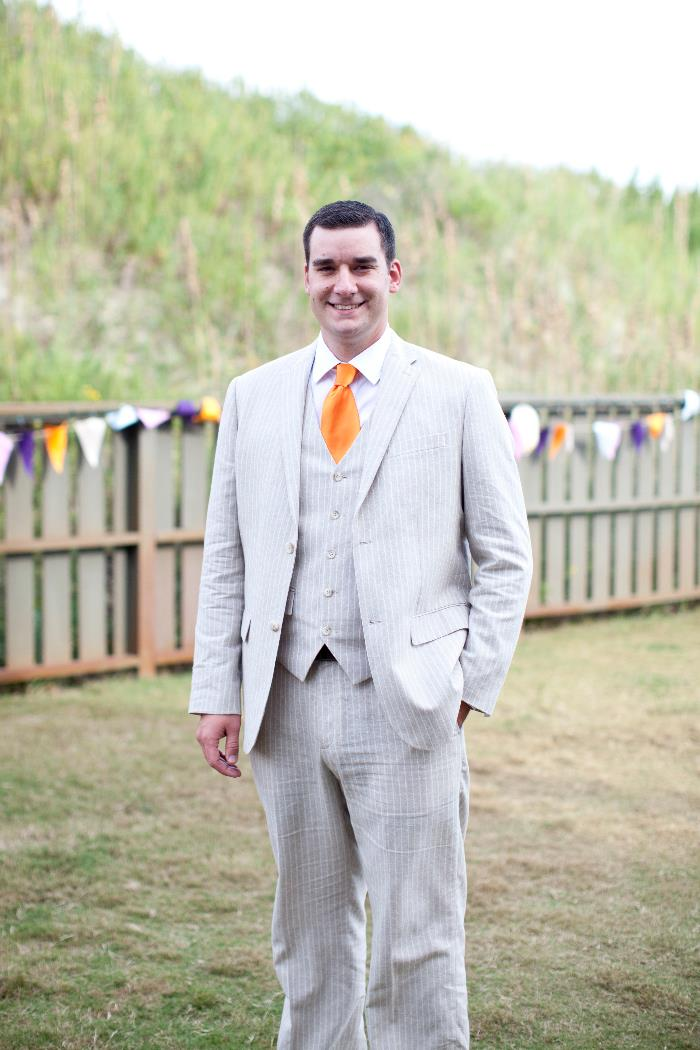 OBX wedding Groom