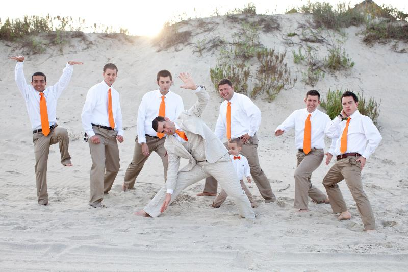Beach Wedding Groomsmen 2