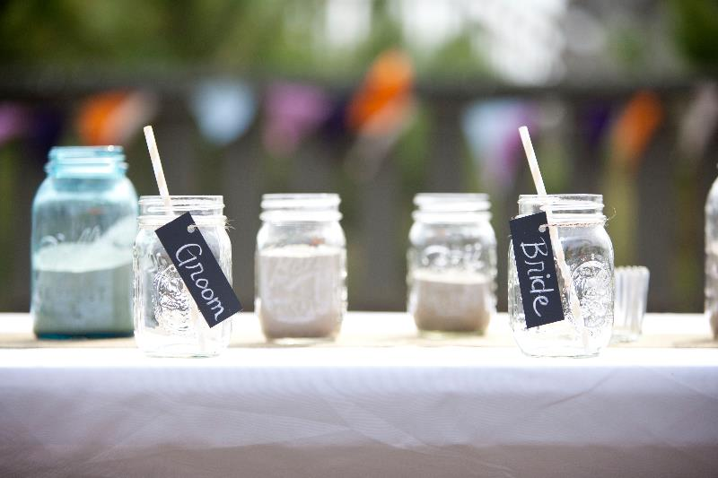 Wedding Reception Ball Jars