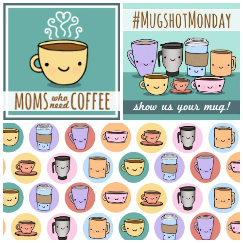 Logo, Facebook Cover, and Spot Illustration for  Moms Who Need Coffee