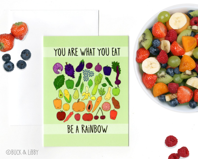 Be A Rainbow Card