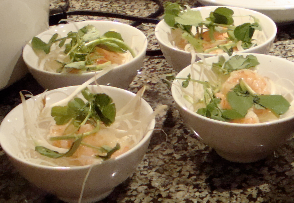 Laksa Bowls Ready for the Sauce
