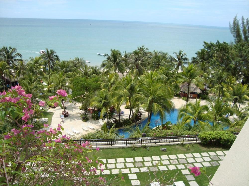 Beach Resort on Penang Island