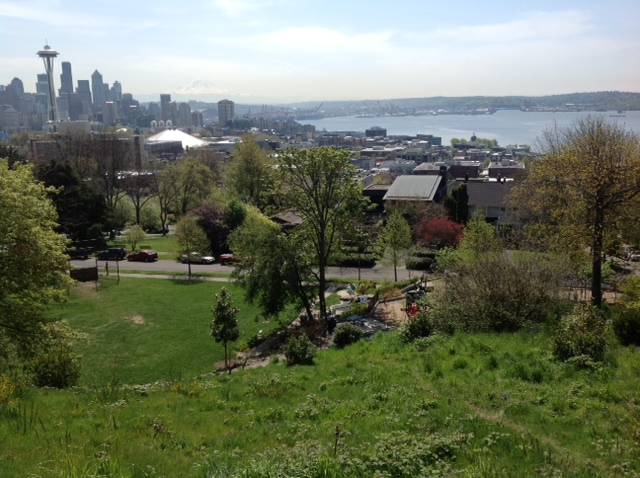 Seattle skyline from Kerry Park on Queen Anne