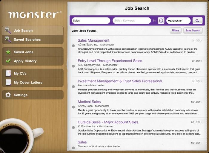 Monster iPad App