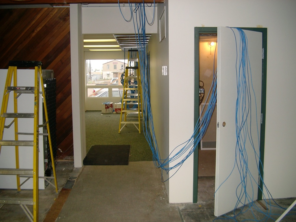 IT05  IT Communications - General Contractors Commercial Renovations in Edmonton, Office and Warehouse Project Contractors
