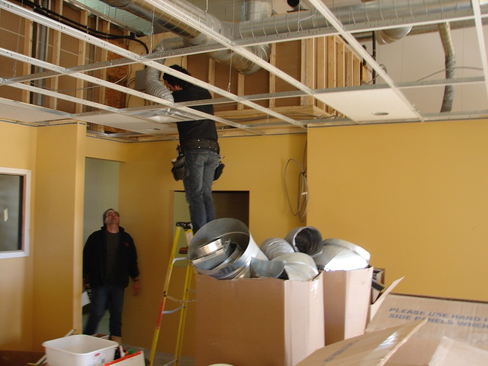 HV02  HVAC - General Contractors Commercial Renovations in Edmonton, Office and Warehouse Project Contractors