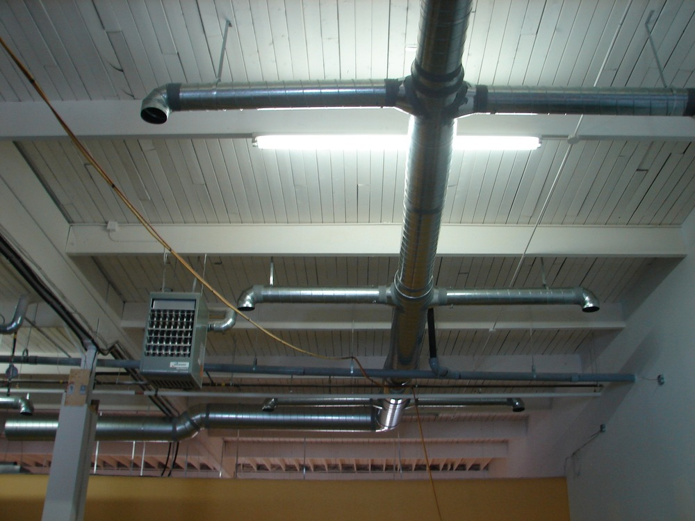 HV01  HVAC - General Contractors Commercial Renovations in Edmonton, Office and Warehouse Project Contractors