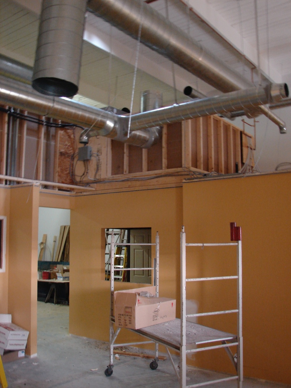 HV08  HVAC - General Contractors Commercial Renovations in Edmonton, Office and Warehouse Project Contractors