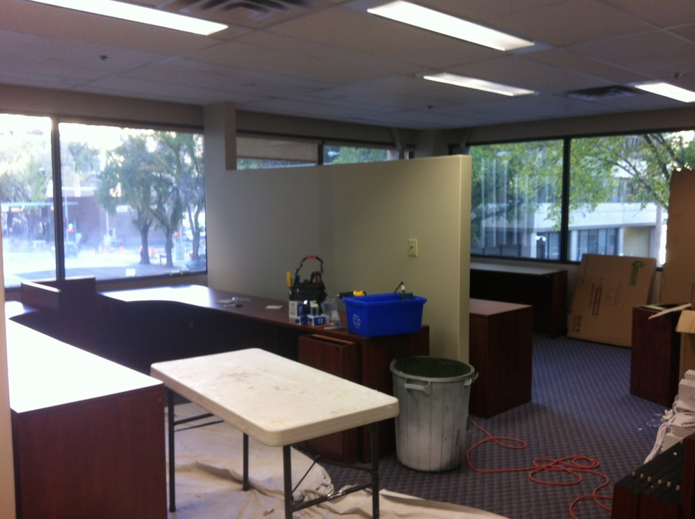 PS06  Partition Systems - General Contractors Commercial Renovations in Edmonton, Office and Warehouse Project Contractors