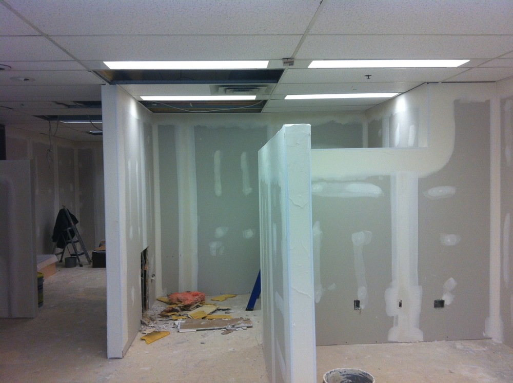 PS07  Partition Systems - General Contractors Commercial Renovations in Edmonton, Office and Warehouse Project Contractors