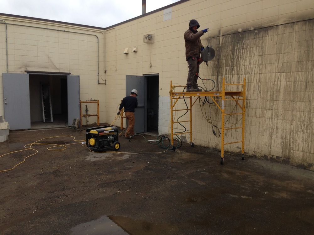 MB03  Masonry & Brickwork - General Contractors Commercial Renovations in Edmonton, Office and Warehouse Project Contractors