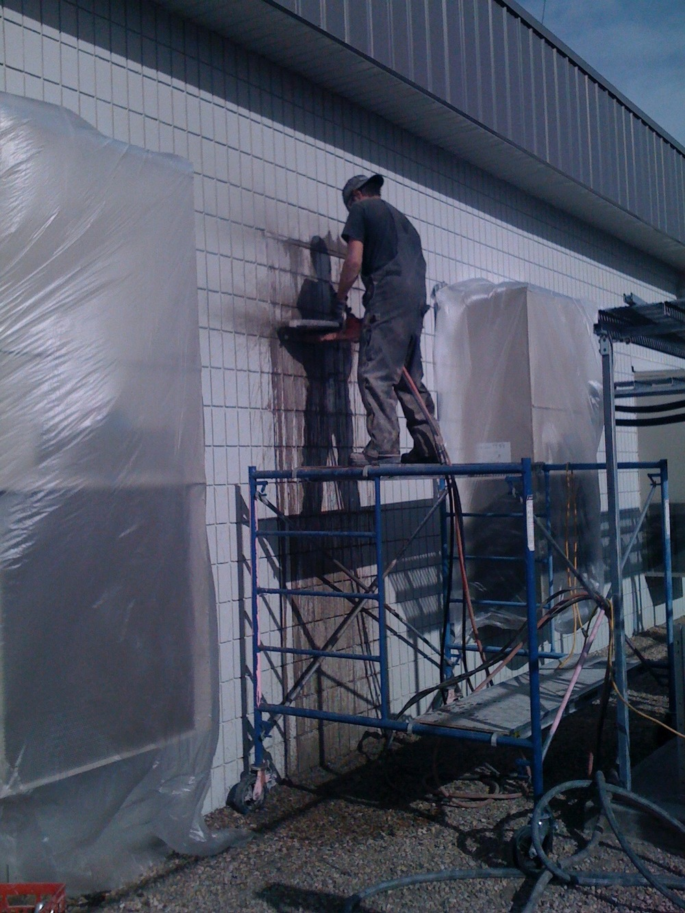 MB06  Masonry & Brickwork - General Contractors Commercial Renovations in Edmonton, Office and Warehouse Project Contractors