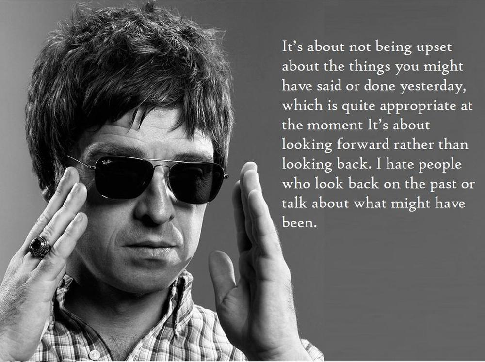 Hate Gallagher. Love the quote.