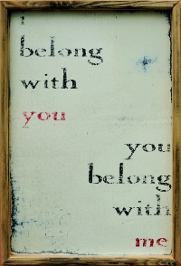 """you belong with me"""