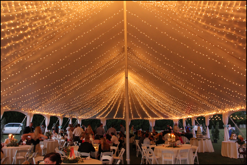 Father of the Bride Wedding Tent