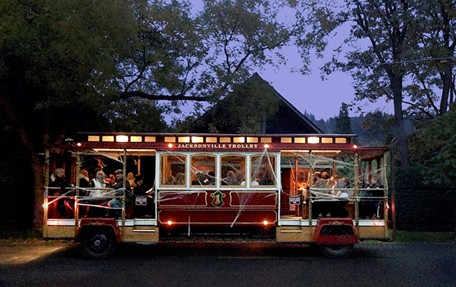 Haunted Trolley Tour - SOLD OUT