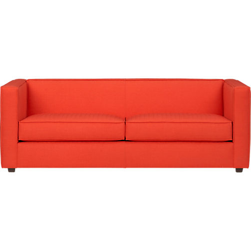 This is a pretty big commitment, but it's not a bad price. CB2 Club Atomic Sofa, $1,099.