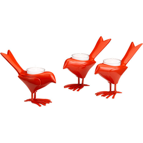 They're so cute. Orange Chick Candle Holder, CB2, $7.95.