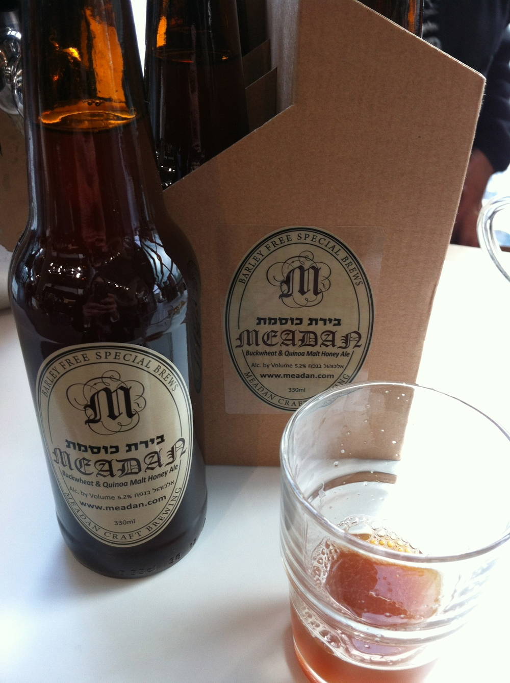 GLUTEN FREE BEER!! With buckwheat and quinoa - and GOOD!