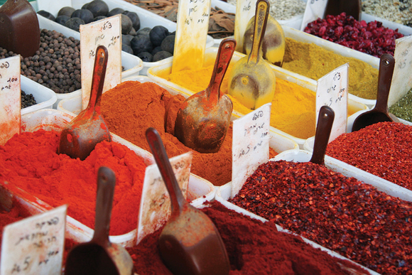 Carmel Market Spices