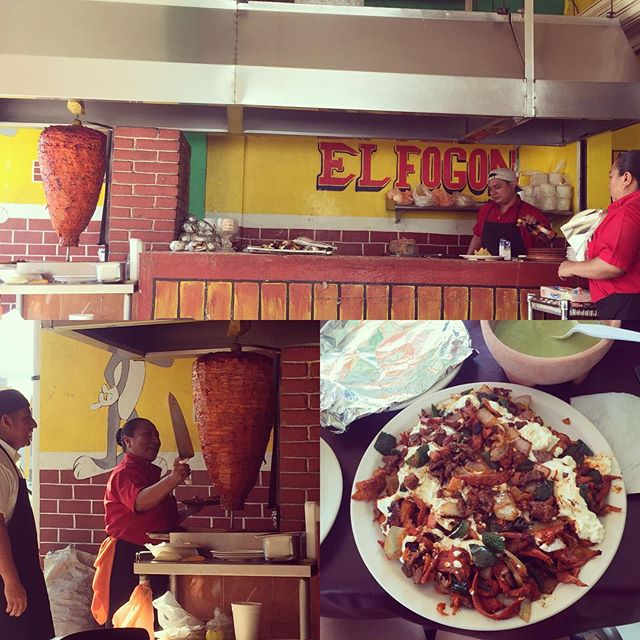 El Fogón - Playa del Carmen 🔥🙌🏼  This taqueria was off the hook, best I ever had with @mingointhedance   #adobada #elfogon #deliciousness