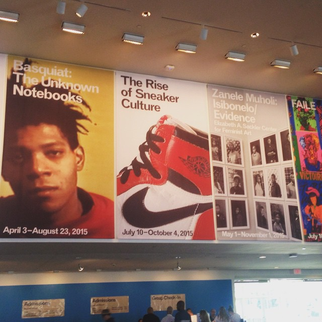 Brooklyn Museum Exhibits / April 3 - Oct 4 w/ @mingointhedance | Basquiat: The Unknown Notebooks (amazing notes and videos, made me love Baaquiat even more.. so inspiring!) | Zanele Muholi: Isibonelo Evidence (powerful exhibition, made me cry) | The Rise of the Sneaker Culture (damn I will have missed this one, would have loved to see it!)