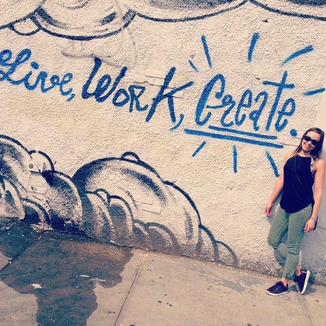Yup ✨Create #brooklyn #doit #brooklynindustries #motto #marsartist #nyc