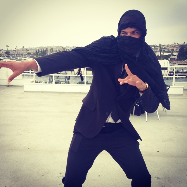 Go Ninja!   #stealthmode #mingointhedance #sandiegobay #deadlyaccurate