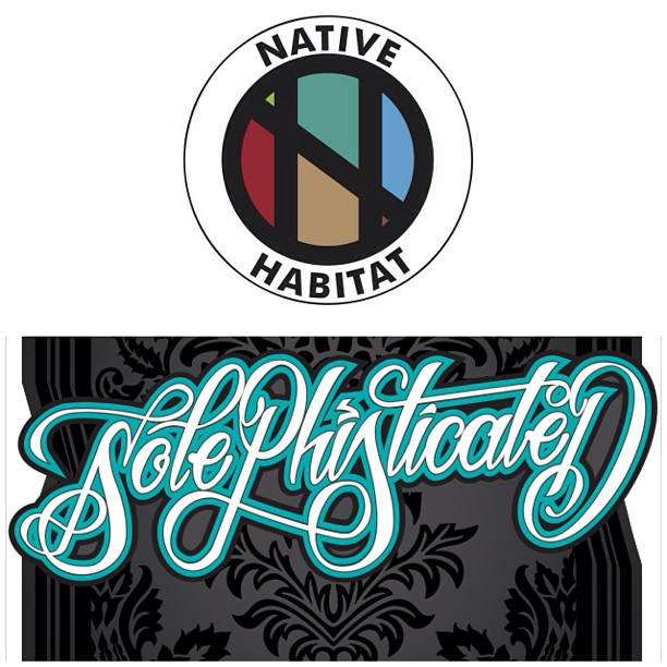 "NATIVE HABITAT @nativehabitat | Graphics & Design | NYC  ✨Talented peoples, representing nothing but the best!✨ Hit them up for your graphic needs!    Many thanks & much love to @vindoza & @alov3suprem3 for the dope graphics for ""Solephisticated"""