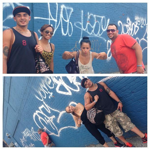 Ayyy!! Don't mess w/ this crew L.E.S. #nyc @shaki_t @adknyc @gp731 @andylyrikcruz more amazing #salsadancers #mambo #on2