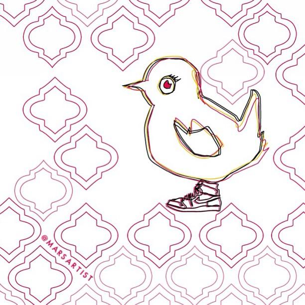Chick w/ Kicks   #jordan1 #classy #marsartist
