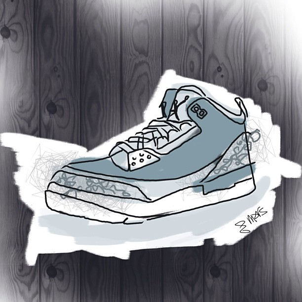 #jordan #cements #marsartist #ipad